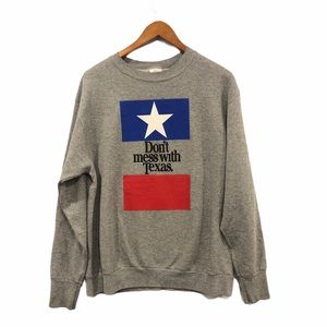 Vintage 90s 'Don't Mess With Texas' Sweatshirt